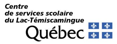 Logo - Centre de services scolaire du Lac-Témiscamingue
